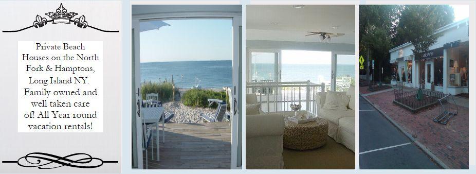 Luxury beach front getaway for Luxury vacation rentals hamptons